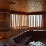 アルミ製建具 木目調ルーバーの施工事例