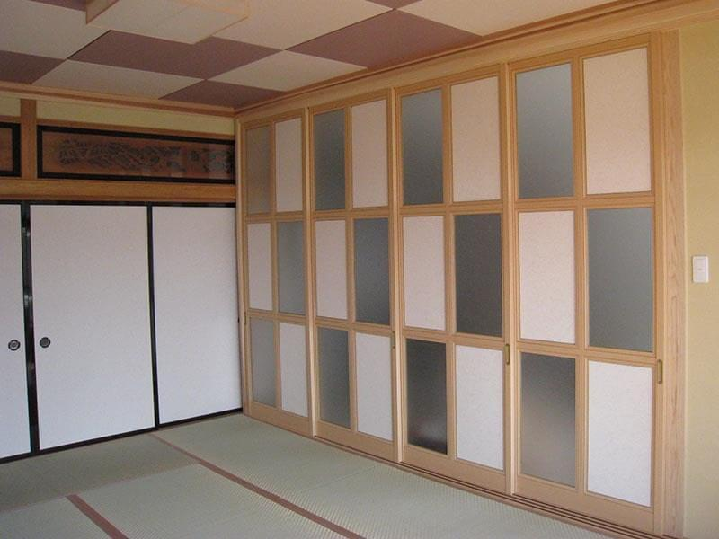 アルミ製建具 襖の施工事例